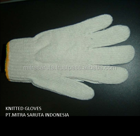 sale Knitted cotton hand Glove for safety work