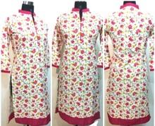 indian 100% cotton women kurta kurtis top tunic designer kurtis party wear