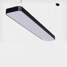 Simple aluminum LED pendant hanging lamp for office