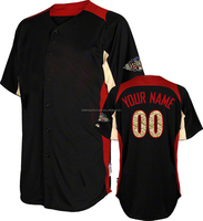 Sublimated Wholesale All Stars Black Baseball Jersey