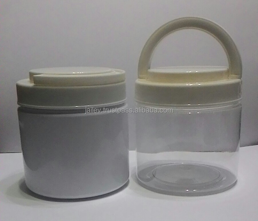 500g plastic jar for cosmetics or food