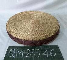 40 centimeters dimesion natural seagrass seat cushion high quality wicker stool cheap price straw furniture