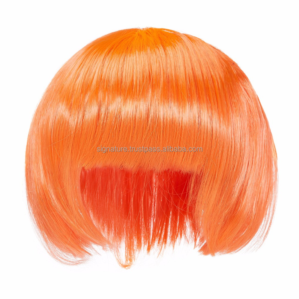 Wig Synthetic for Women Ladies Girls Artificial Hair Bangs Curls Locks Makeup Fashion Fancy Heat Resistant With Cap Cosplay