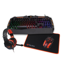 MeeTion Gaming Keyboard and headphone and Mouse combo and Mouse Pad