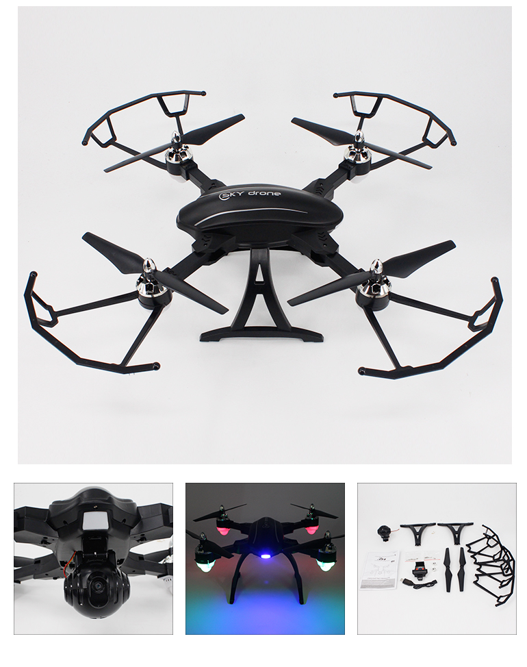 foldable rc toy long range drone with HD camera