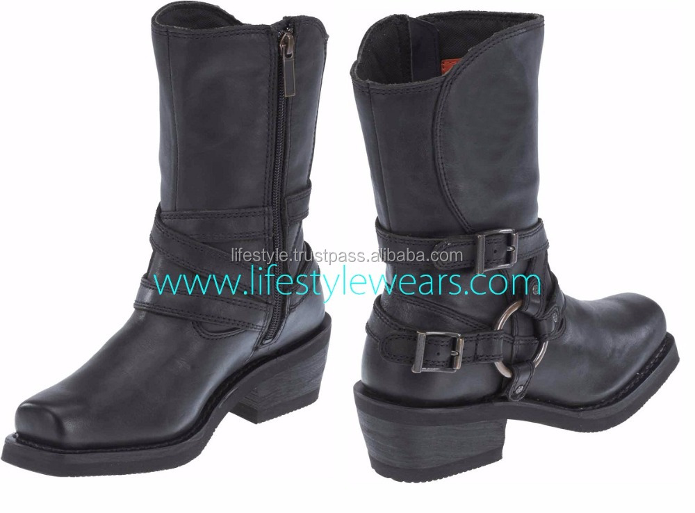 orange leather boots women long leather boots women sexy leather boots