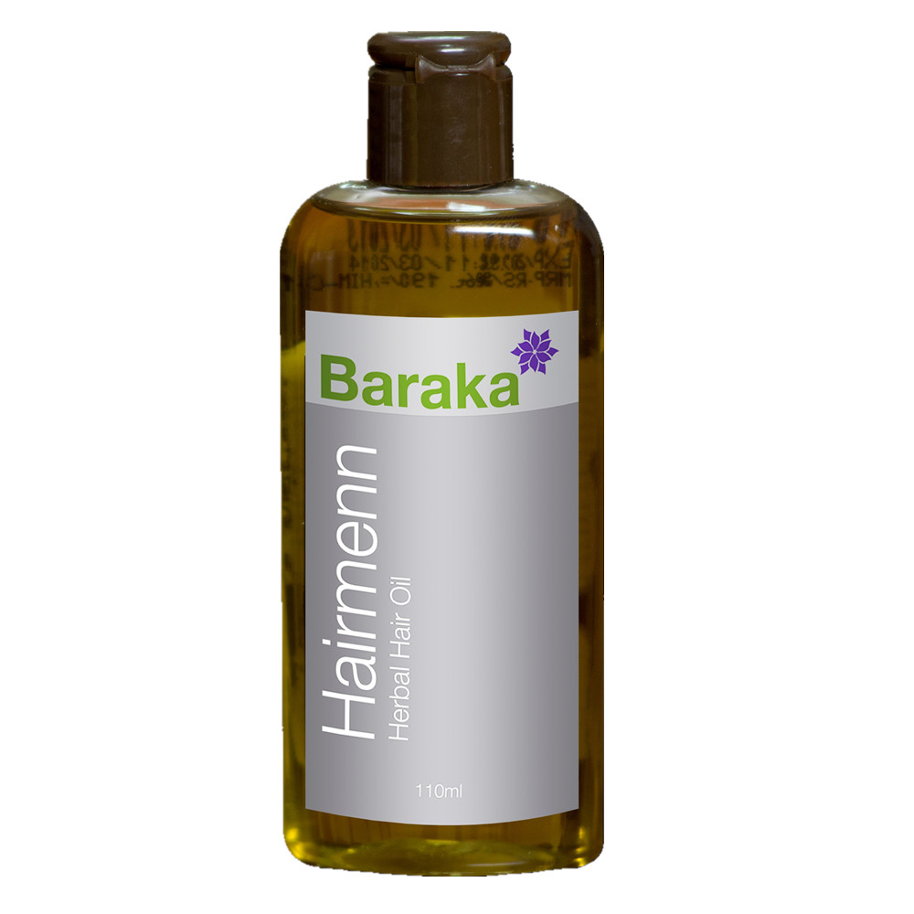 Haimenn Hair Oil - Virgin coconut oil, Fenugreek, Black seed oil, Henna & Amla