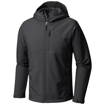 Black SoftShell Jacket Hoodie for Men 2019