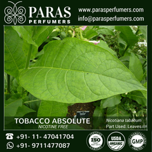 100% Pure and Natural Tobacco Absolute (Nicotine Free)