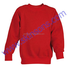 Wholesale Long SLeeves Blank Black Sweatshirts High Quality