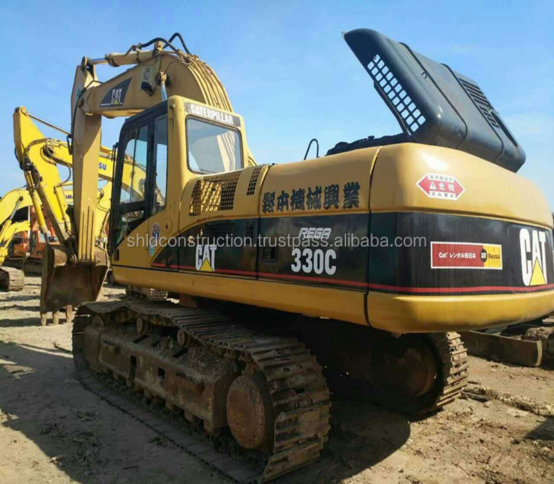 Used japan Caterpillar 330C crawler excavator , CAT 320B/ 320C /330C used excavator