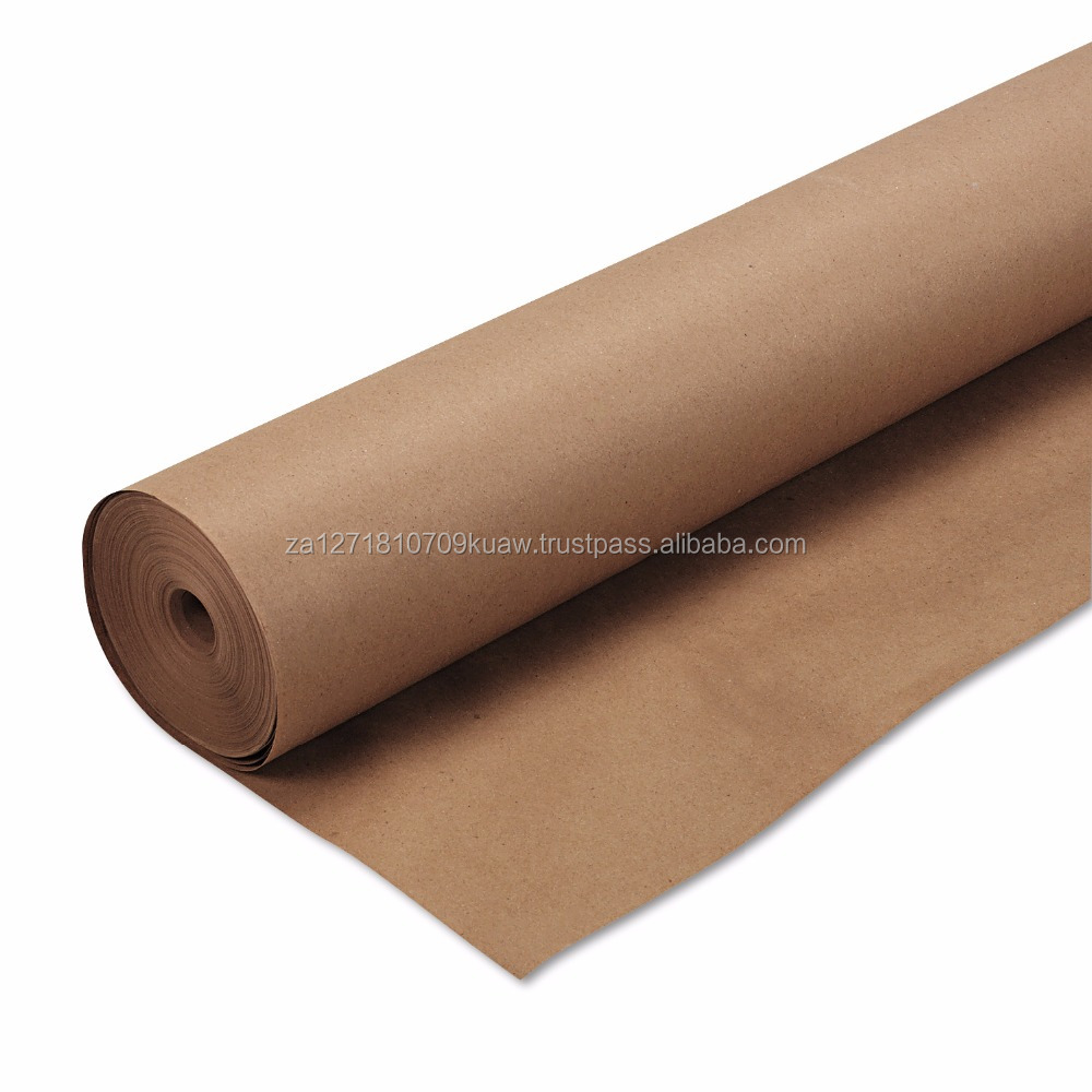 "Butcher Paper Roll Kraft Wrapping Paper, 48"" x 200 ft/ newsprint paper rolls/ newsprint paper printing paper 48.8gsm"