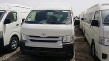 TOYOTA HIACE HIGH ROOF DELIVERY PANNEL VAN 2.7L CLS-2017
