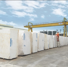 Cheapest Vietnam natural stone white marble block price FOR SALE