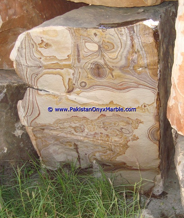 natural stone Marble blocks Picasso Rainbow marble natural stone