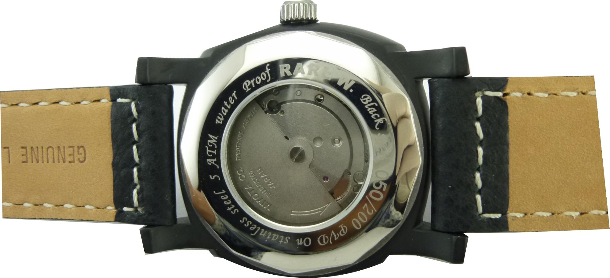 sapphire crystal case Japan movement automatic watch