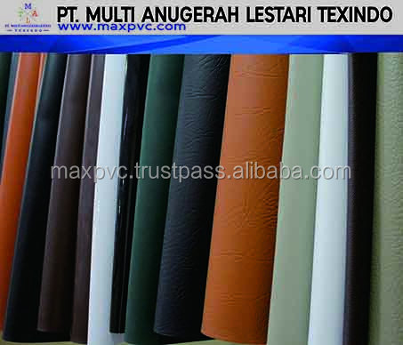 Luxurious PVC Sponge Leather from Indonesia