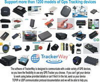 Trackerway make your company with new software Gps vehicle tracking server software for all trackers devices