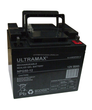 2 X Brand New Ultra Max NPG50-12, 12v 50Ah Pre-Charged Batteries for Golf Buggy including free delivery via courier
