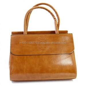 Fashion Woman Lady Classic PU leather Tote Bag Handbag