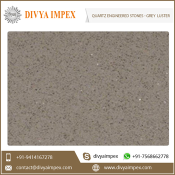 Polished Artificial Engineered Quartz Stone Slab for Vanity Tops Counter tops