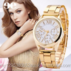 Women Numeral Stainless Steel-belt Watch