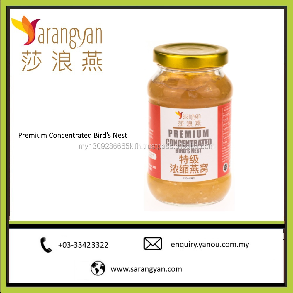 Premium Concentrated Birdnest Pure and Natural in Malaysia