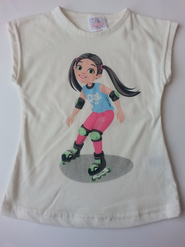 Fashionable New DesignT Shirts for Girls 2 to 6 Years