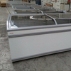Commercial island chest freezer AHT Athen 210 (-) XL AD, fully restored