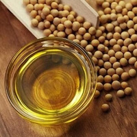 Crude degummed soybean oil