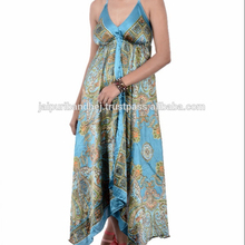 New 2018 Stylish Party Wear Silk Long Dresses