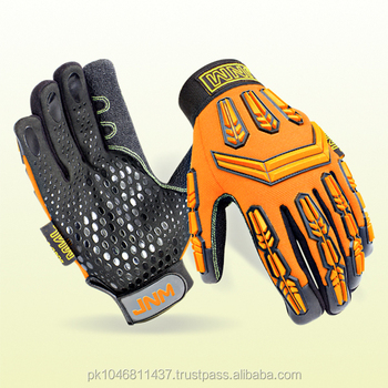 Mechanic Gloves for industrial work protection