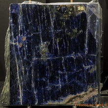 Bolivian Blue Sodalite Granite Slabs