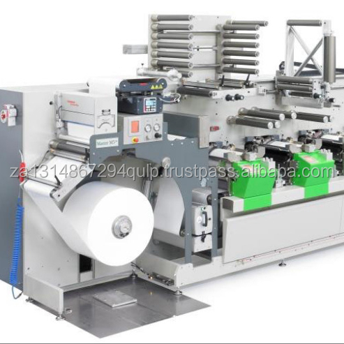 PLASTIC BAG HIGH SPEED CI FLEXO PRINTING MACHINE