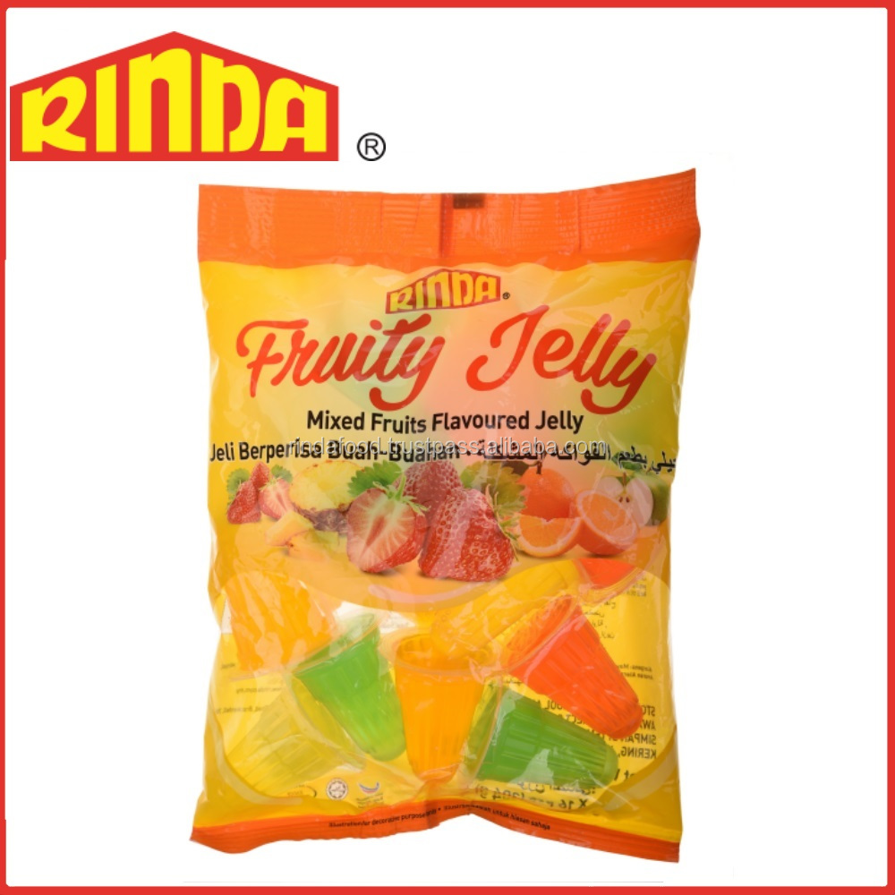 Halal Mixed Fruits Flavoured Jelly