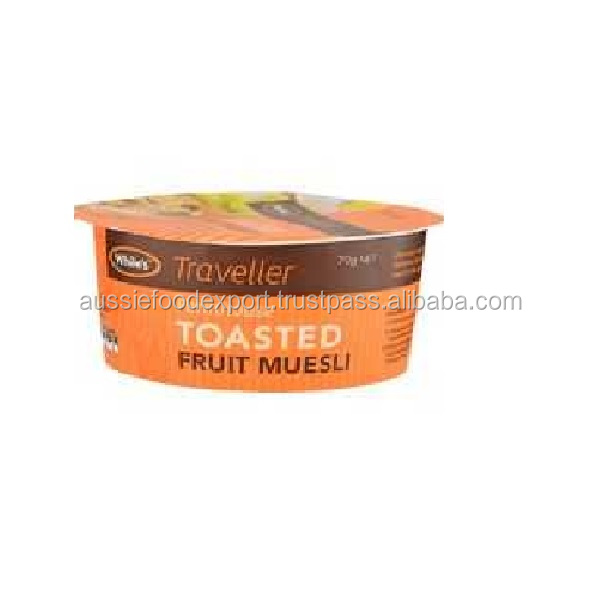 Toasted Fruit Muesli with Traveller bowl