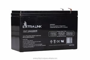 EXTRALINK AKUMULATOR BATTERY ACCUMULATOR 12V 7.2AH