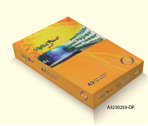 A3 / A4 Sizes 205gsm / 230gsm 250 sheets High Quality Premium Digital Card / Paper for Color, Laser and Digital Printing