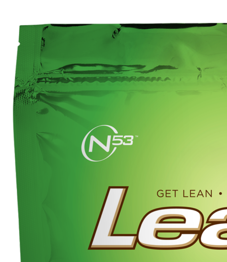 Lean 1 (Chocolate, 38 Servings): Whey Protein Isolate Meal Replacement, Protein Shake & Appetite Suppressant by Nutrition 53