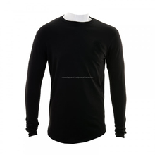 long sleeve gym custom fitness t shirts blank tight seamless silm fit mens jumper