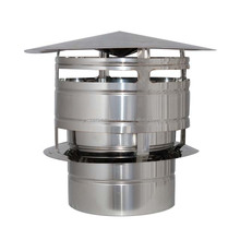 Techno , End Piece Terminal Cap , Stainless Steel , Fittings for all Products , Single Wall , Double Wall , Concentric Wall