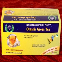 ORGANIC BASIL GREEN TEA