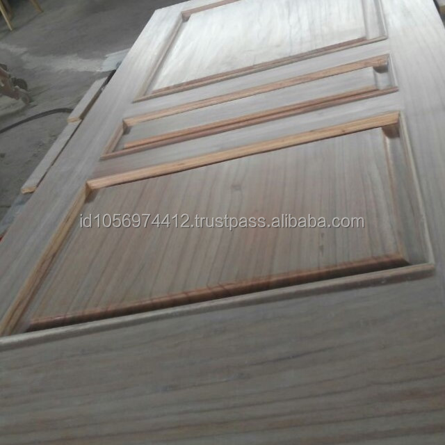 Strong and Durable Designs Teak wood House Front Door Frame Model From Indonesia Legal Wood