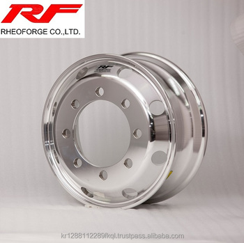 19.5*7.50 Forged aluminum alloy truck and bus wheel polish machine 19.5x7.50
