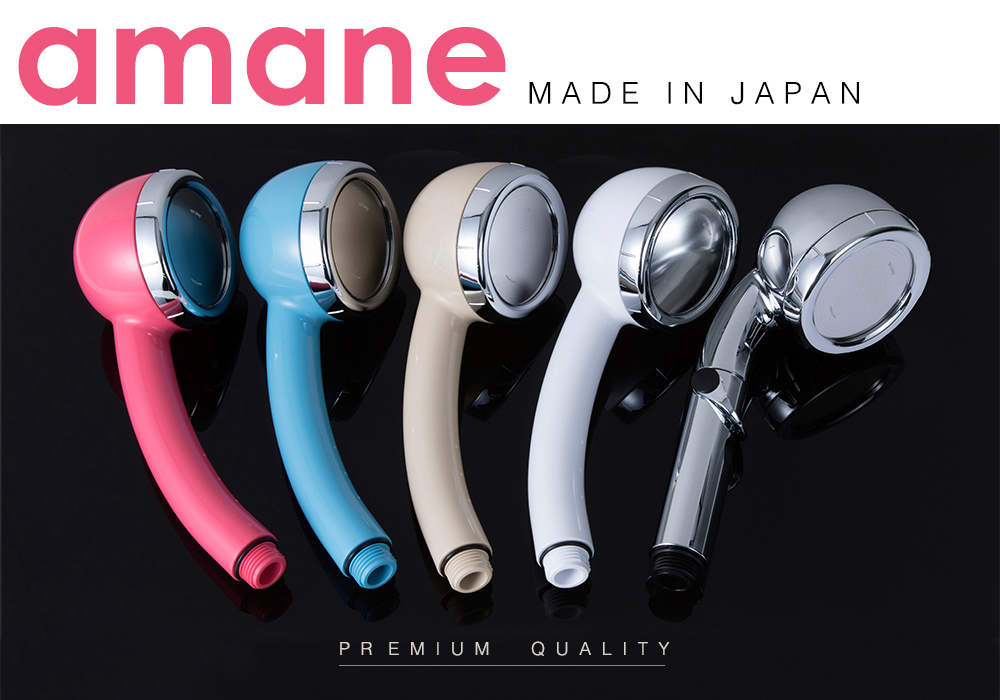 made in Japan ECO product shower head, OEM available, low MOQ, Amane