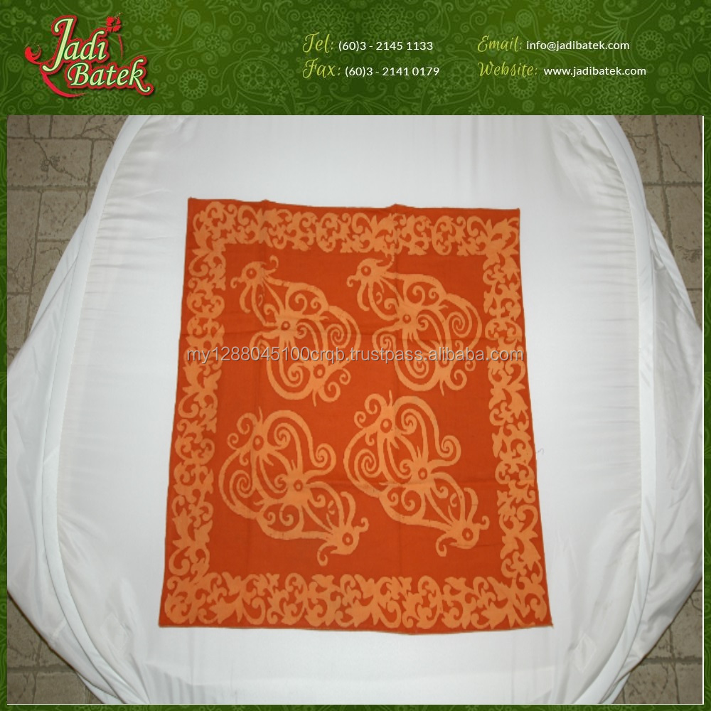 [Jadi Batek] Square Printed Kain Batik Design Bandana for Protection and Neck Decoration Fabric Material from Malaysia