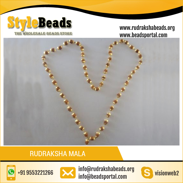 Wholesale Mala Beads Necklace Rudraksha Mala