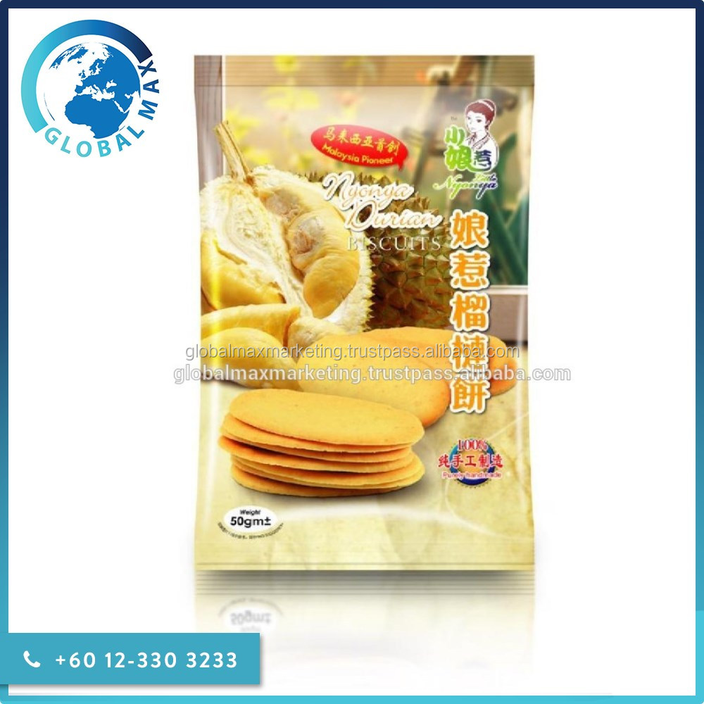 Halal Durian Wafer Biscuits and Cookies