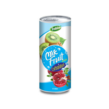 250ml Canned Mixed fruits Juice-VietNam Manufacturer-OEM Fruit Juice-From Trobico Brand