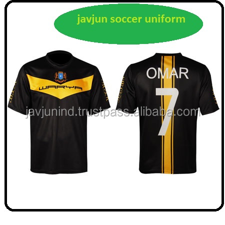 Youth Sublimated Custom Made Soccer Team Jersey Uniforms